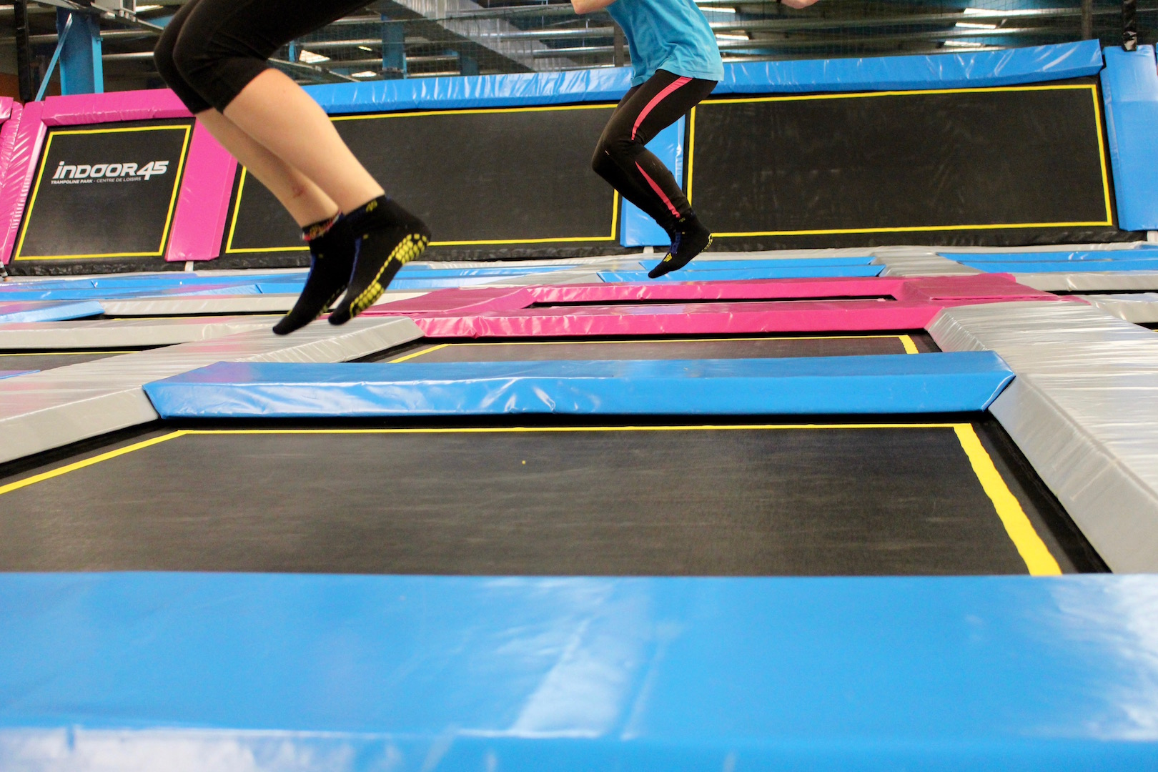 Trampoline Fitness Jump