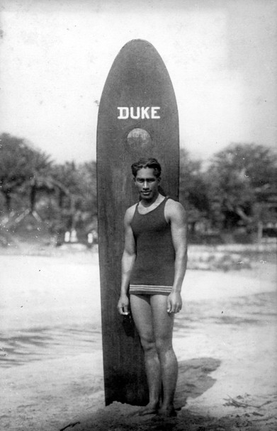 Duke Kahanamoku Inventeur SUP